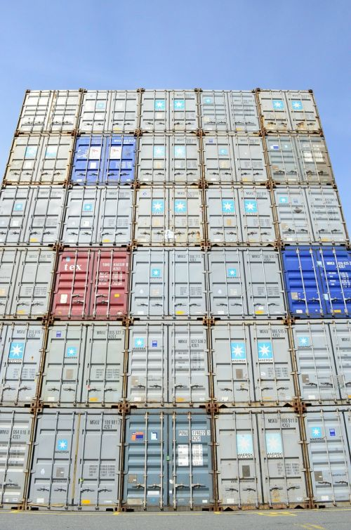 container tower wall
