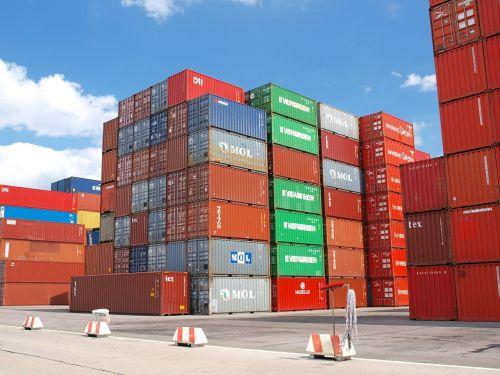 container cargo freight harbor