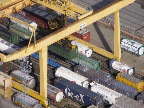 container container crane spreader