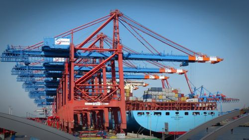container gantry crane container container handling