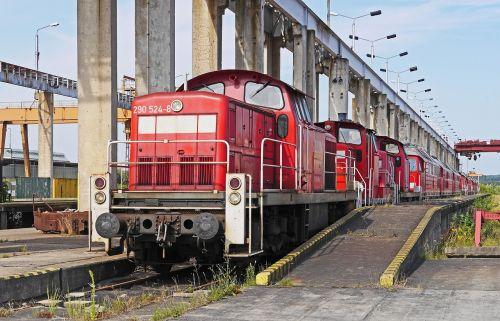 container plant shut down diesel locomotives
