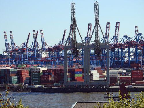 container port container crane