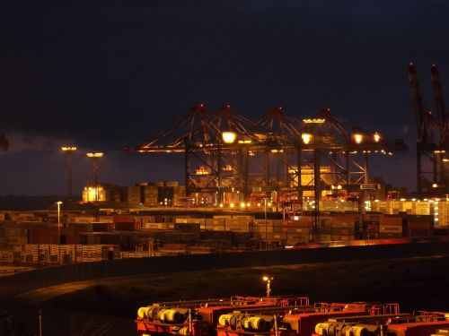 container port port port handling