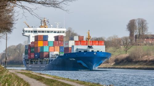 container ship ships port