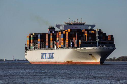 container ship cargo frachtschiff