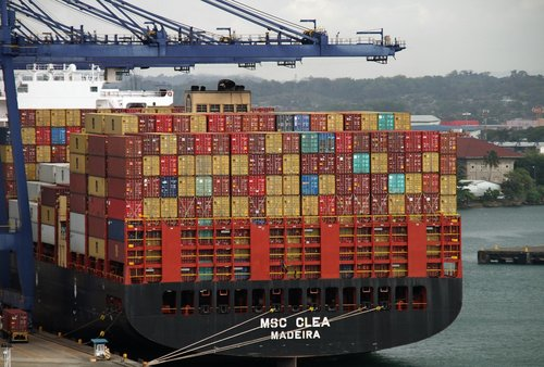 containers  cargo  export