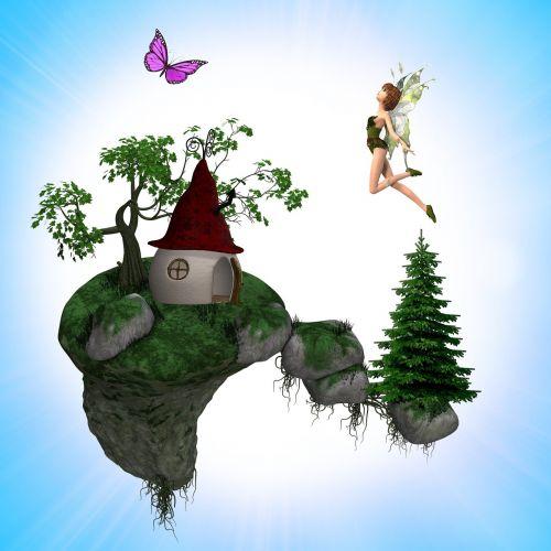 conte island suspended fairy