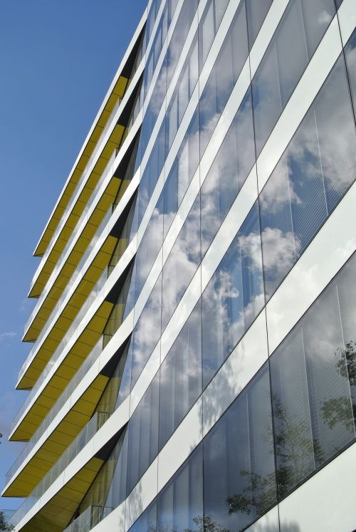 contemporary architecture balconies
