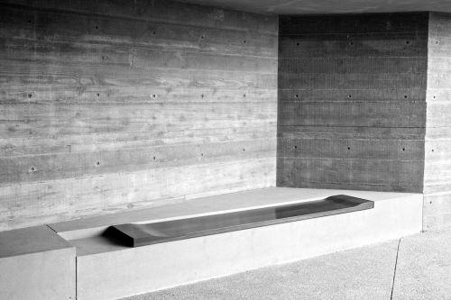 Contemporary Art Sitting Bench