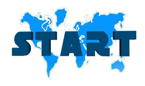 continents globe start