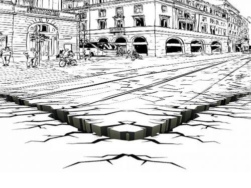 contour crevasse city