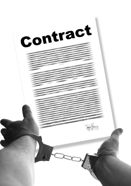 contract hands bound