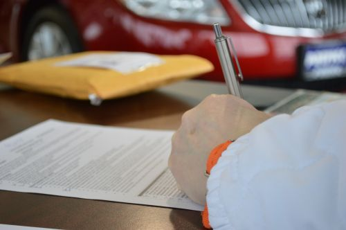 contract business document