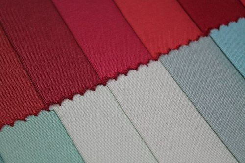 contrast  textile  shades
