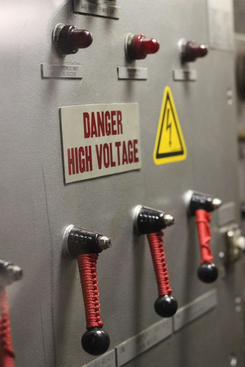 control high voltage electricity