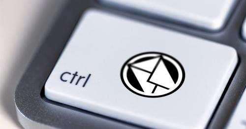 control keyboard email