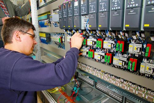 control cabinet power plant automation