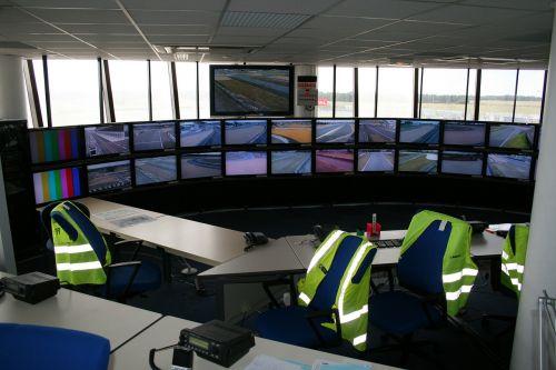 control room belgium le mans