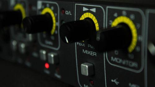 controller mixer music production
