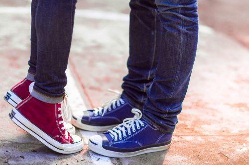 converse couple love