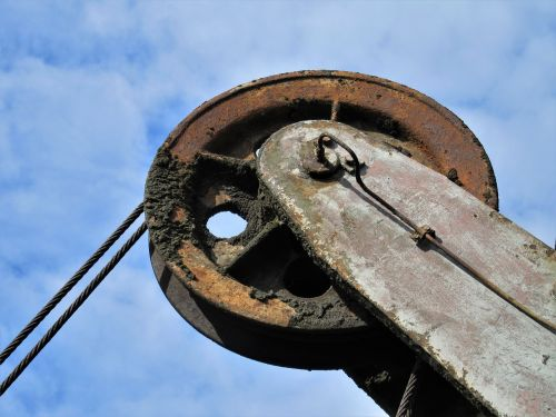 conveyor wheel conveyor system rope