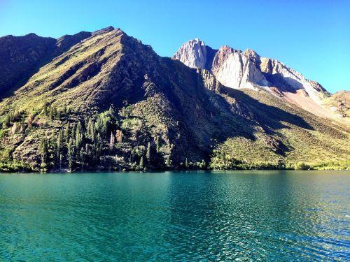 convict lake mammoth summer