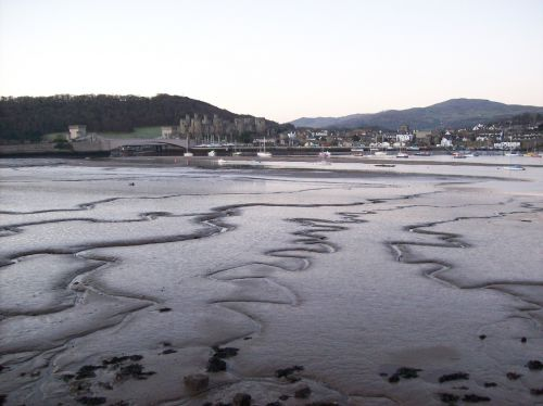 conwy north wales estuary