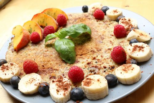 cook pancake eat