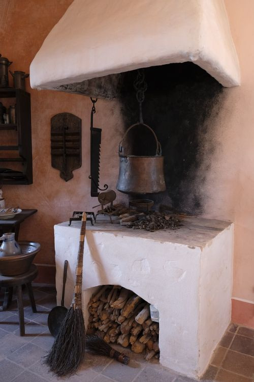 cook cooking zone fireplace