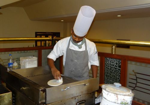 cook cooking dosa