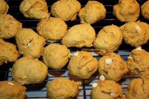 cookie dough pumpkin