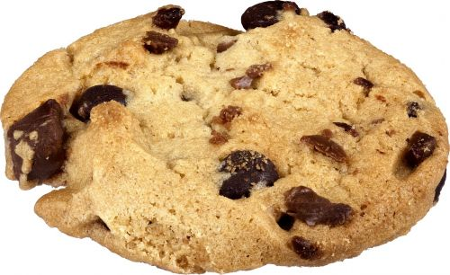 cookie chocolate chip cookie snack