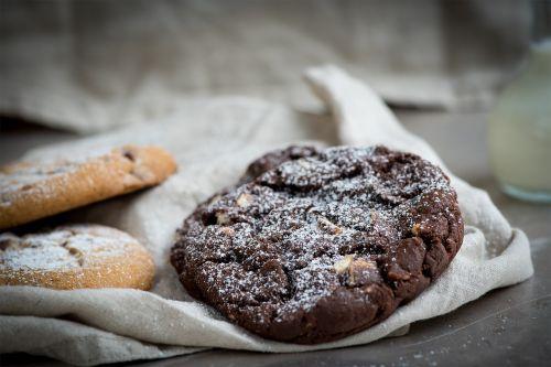 cookie dark cookie chocolate cookie