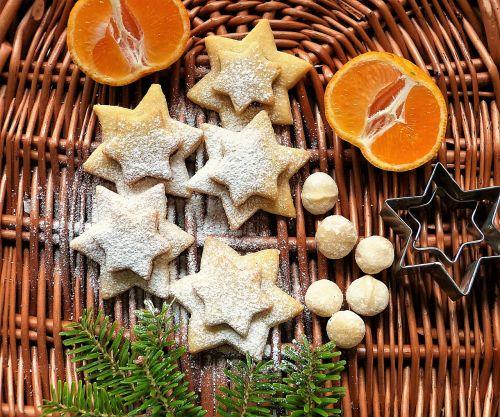 cookie christmas macadamia
