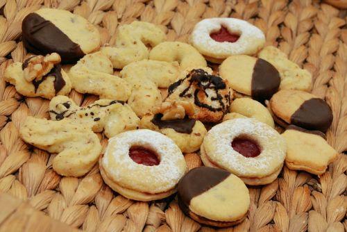 cookie pastries christmas cookies