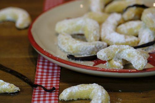 cookie crescents vanillekipferl