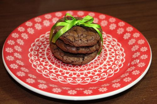 cookie chocolate present