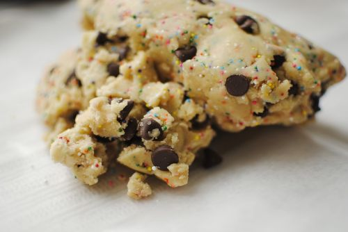 cookie dough baking dough