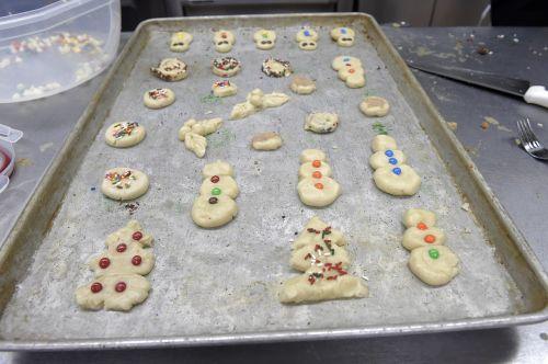 cookies baking fresh