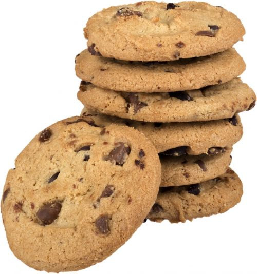 cookies chocolate chip cookies stack of cookies
