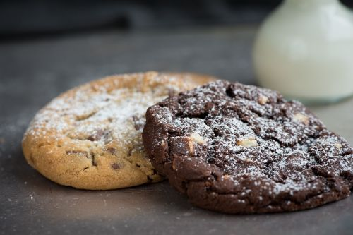 cookies two chocolate cookie