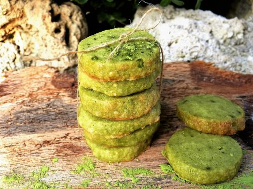 cookies green tea cookie