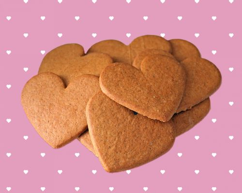 Cookies, Biscuits, Heart Shaped