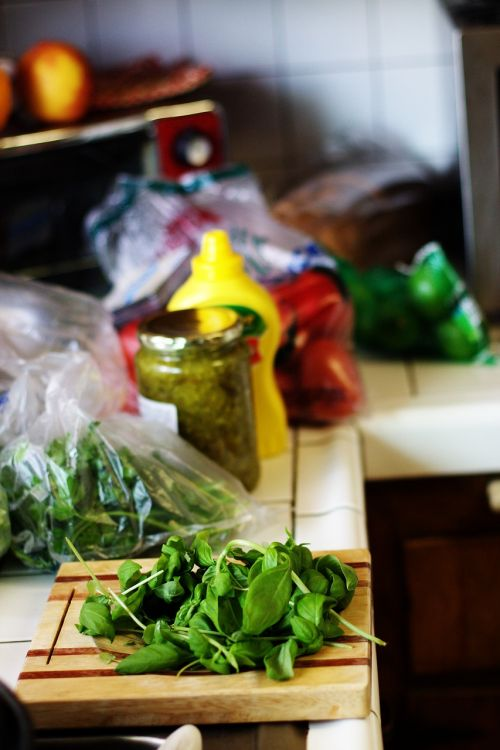 basil cooking preparation