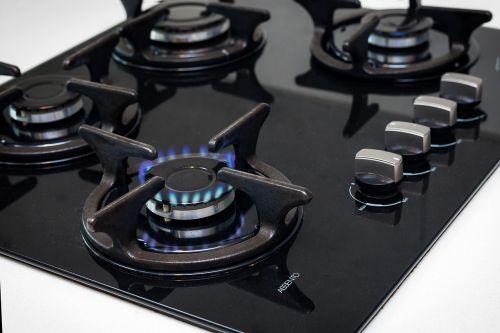 gas stove gas orange