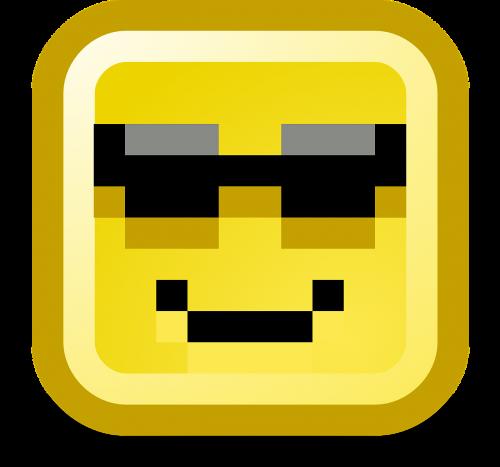 cool smiley computer