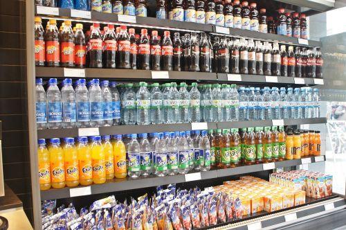 cooling soft drinks coke