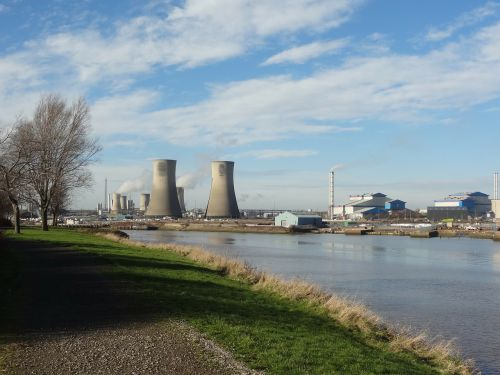 cooling towers river industry