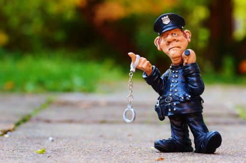 cop funny figure