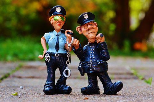 cop policewoman colleagues